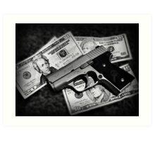 Guns and Money MK9 Kahr Art Print