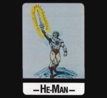 He-Man - He-Man - Trading Card Design Baby Tee