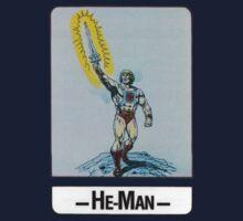 He-Man - He-Man - Trading Card Design One Piece - Short Sleeve