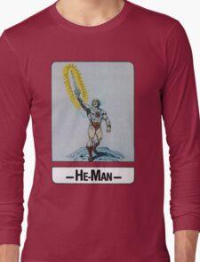 He-Man - He-Man - Trading Card Design Long Sleeve T-Shirt