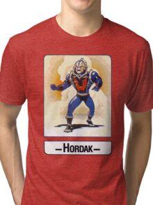 He-Man - Hordak - Trading Card Design Tri-blend T-Shirt