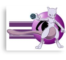 The Almighty Mewtwo Canvas Print