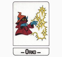 He-Man - Orko - Trading Card Design One Piece - Short Sleeve
