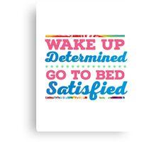 Motivational - Determination Canvas Print