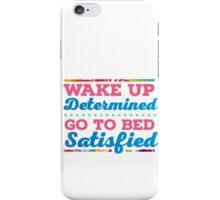 Motivational - Determination iPhone Case/Skin