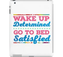 Motivational - Determination iPad Case/Skin