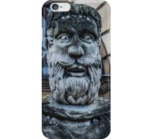 Comical Statue at Oxford University iPhone Case/Skin