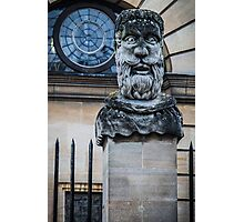 Comical Statue at Oxford University Photographic Print