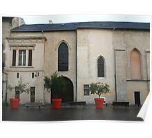Bordeaux Planters Poster