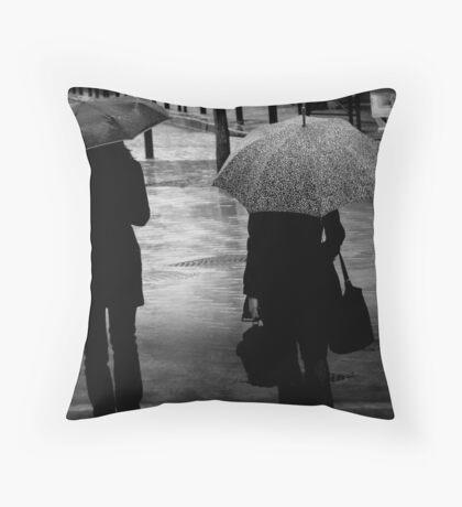 { rain } Throw Pillow