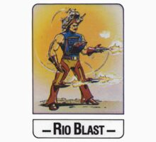 He-Man - Rio Blast - Trading Card Design One Piece - Short Sleeve
