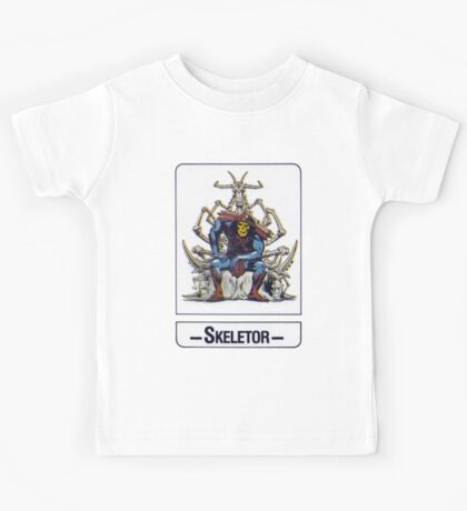 He-Man - Skeletor - Trading Card Design Kids Tee