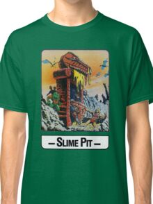 He-Man - Slime Pit - Trading Card Design Classic T-Shirt