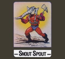 He-Man - Snout Spout - Trading Card Design by DGArt