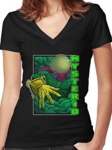 Mysterio Women's Fitted V-Neck T-Shirt