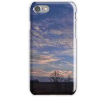 Beautiful evening sky iPhone Case/Skin