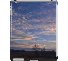 Beautiful evening sky iPad Case/Skin