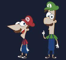 Mario Flynn & Luigi Fletcher Kids Clothes