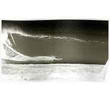 jamie mchugh.kneeboard surfing Poster