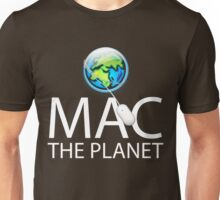 Mac The Planet White Text Unisex T-Shirt