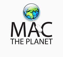 Mac The Planet Black Text Unisex T-Shirt