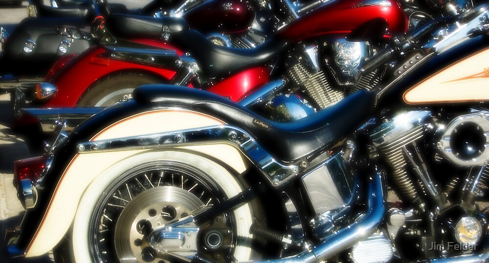 Motorcycles by Jim Felder