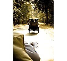 Tuktuk Chase - Siem Reap, Cambodia Photographic Print