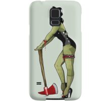 Zombie pin up girl Samsung Galaxy Case/Skin