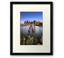 Towards The Evening Star Framed Print