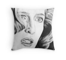 Dana Scully- Pusher Throw Pillow