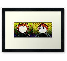 Shane and Wayne Framed Print