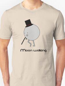 Moonwalking moon, walking. T-Shirt