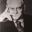 Alberto Moravia by Zack Nichols