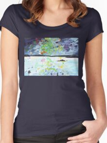 Light Up the Night 1 Women's Fitted Scoop T-Shirt