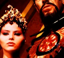 Emperor Ming and Princess Aura Sticker