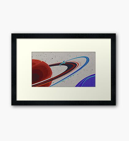 Explore your Universe Framed Print