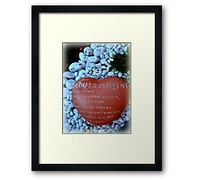 A Child Grew Wings  Framed Print