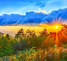 sunrise over blue ridge by Alexandr Grichenko