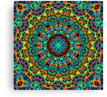 Crazy Clock Canvas Print