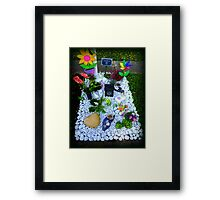 Grave -  Someone's  Child Framed Print