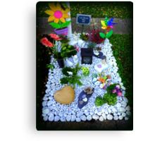 Grave -  Someone's  Child Canvas Print