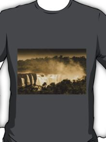 Iguaza Falls - with a Autumnal Filter T-Shirt