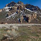 Driggs Mansion Ruins, Unaweep Canyon, Colorado by Brian Hendricks