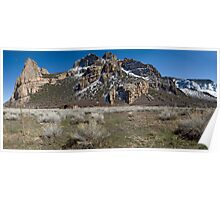 Driggs Mansion Ruins, Unaweep Canyon, Colorado Poster