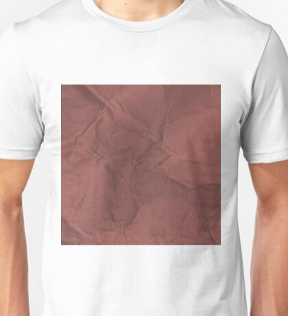 Beautiful Cushions/Marsala Paper Unisex T-Shirt