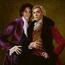 Vampires Lestat de Lioncourt and Nicolas de Lenfent by Gorgidas