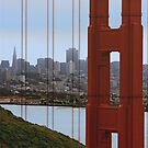 A Piece of the Golden Gate by Ken Fortie