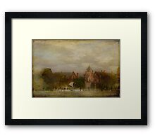 Views from the Lake I -  Shells on Lake Wendouree Framed Print