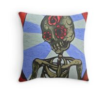 She Was Beautiful Even In Death Throw Pillow