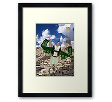 The Views Over Mingora-Saidu Sharif Super City are Breathtaking by Personal Spacecraft Framed Print